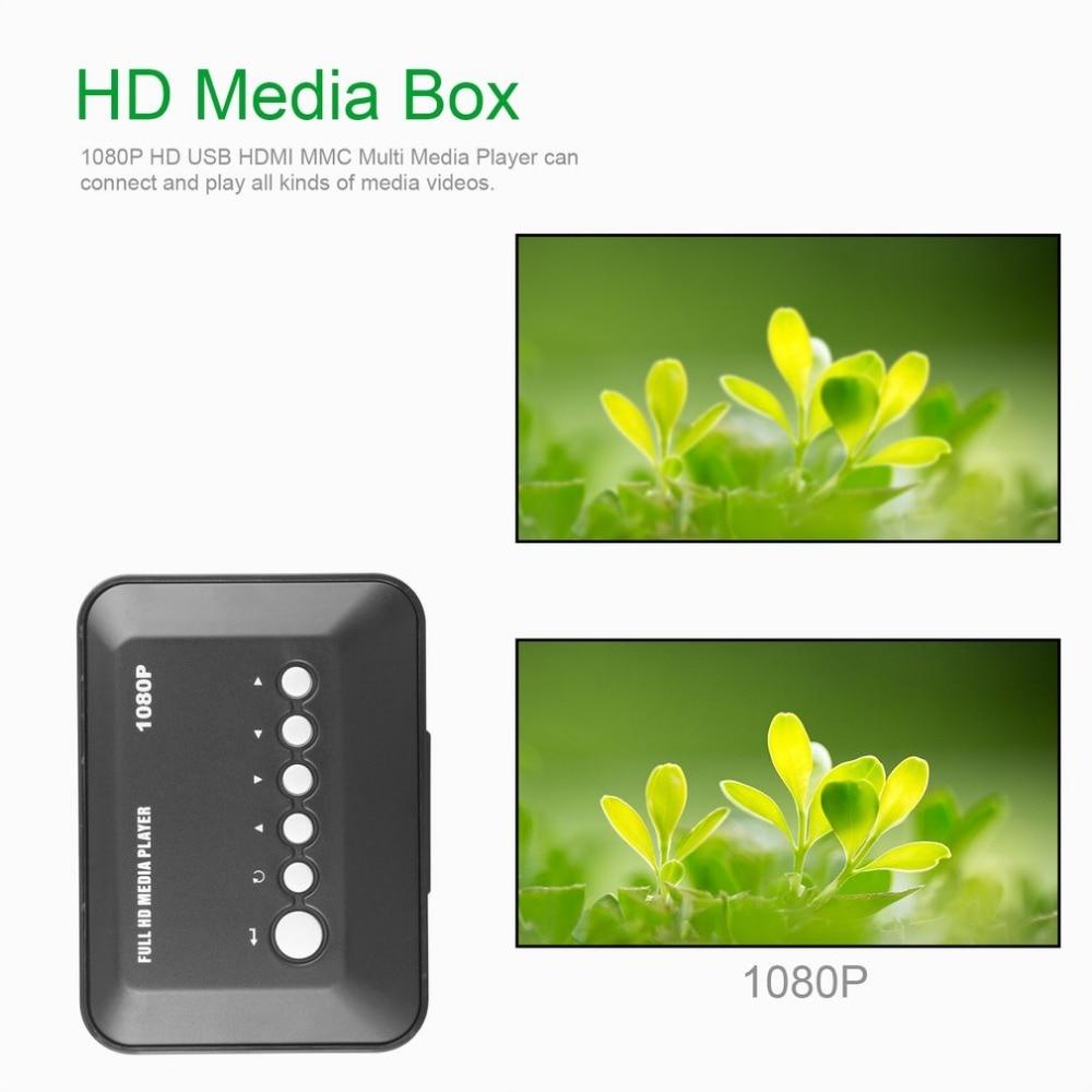 1080P Full HD/SD/MMC TV Videos SD MMC RMVB MP3 Multi TV USB HDMI reproductor multimedia con Control remoto