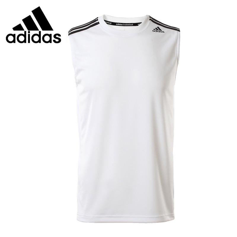 Original New Arrival  Adidas Men's T-shirts Sleeveless Sportswear