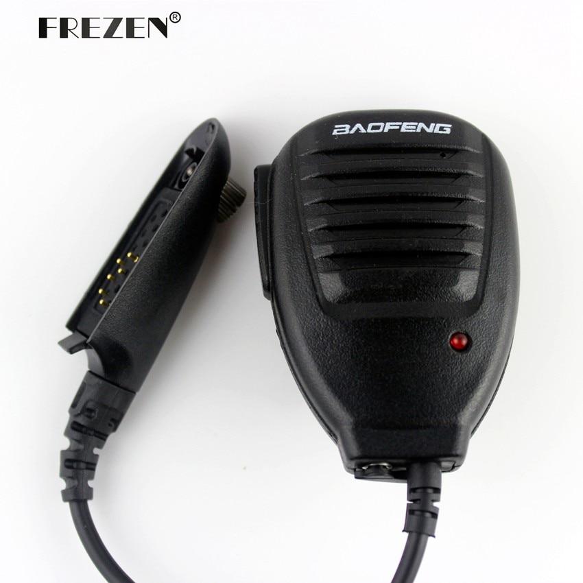 Original BAOFENG UV-9R Plus Handheld Shoulder Microphone Speaker Mic For Baofeng UV9R Plus BF-A58 UV9R BF-9700 S56 Walkie Talkie