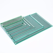 Двухсторонний прототип, универсальная печатная плата Diy 7x9 6x8 5x7 4x6 3x7 2x8 см, 4*6 6*8 5*7