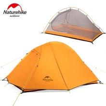 NatureHike 1-2 Persoon Double Layer Ultralight Tent Outdoor Picknick 3 Seizoenen Waterdichte Tent Camping 20D Silicium Tent NH18A180-D
