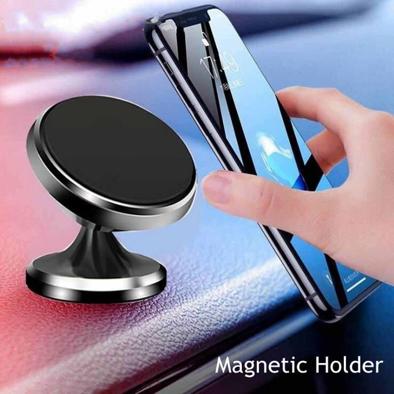 360 grados Coche magnético soportes para iphone 7 8 6 s plus XS Max XR para Samsung s10 5G huawei p20 p30 p10 nova3 escritorio móvil está