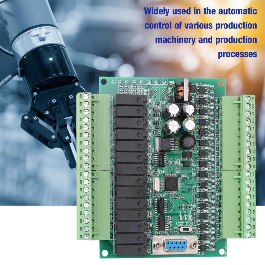Placa de Control programable Industrial PLC para Control automático FX2N 30MR motor