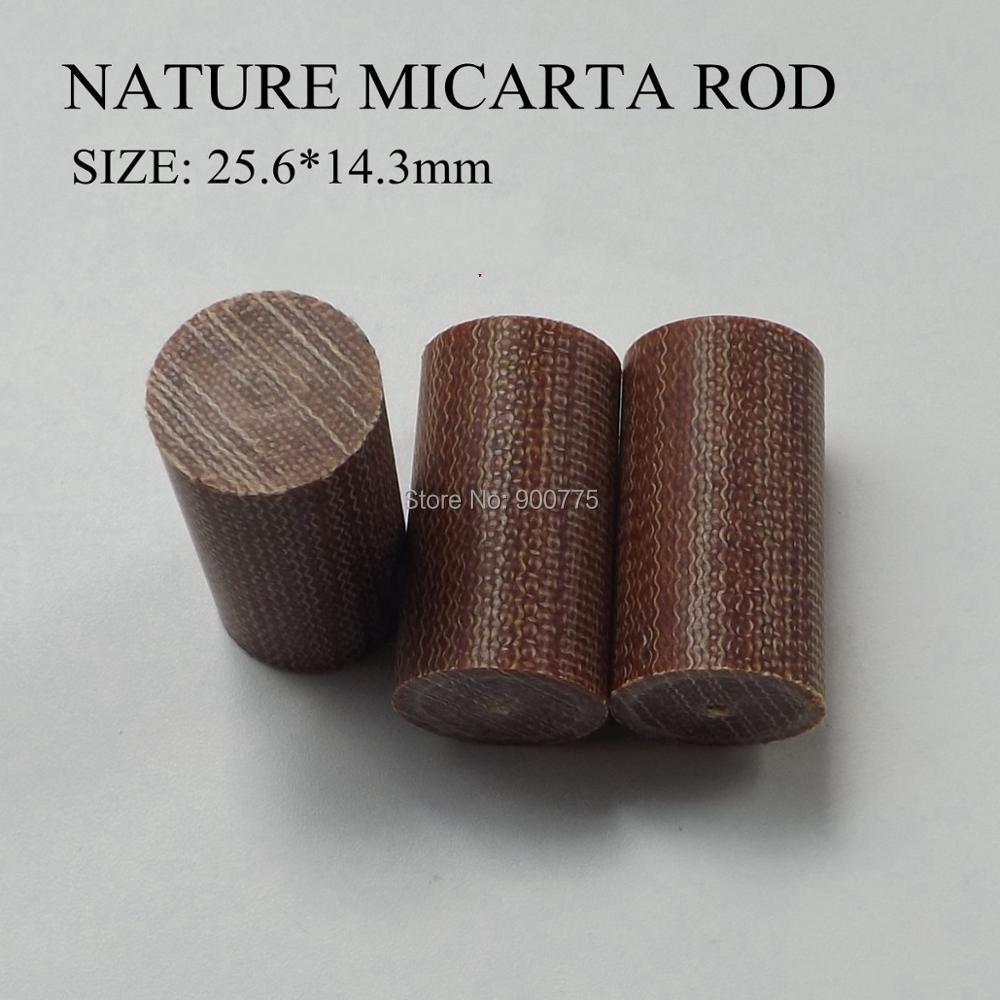 Micarta Rod Ferrule Replacement Pool Cue Stick Epoxy Resin Billiards Accessories American ferrules Black & Brown(optional)