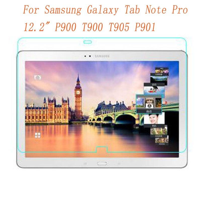 """Vidrio templado para Samsung Galaxy Tab Note Pro 12,2 """"P900 T900 protector de pantalla de la tableta película de la pantalla cubierta de protección para el vidrio de SM-T905"""