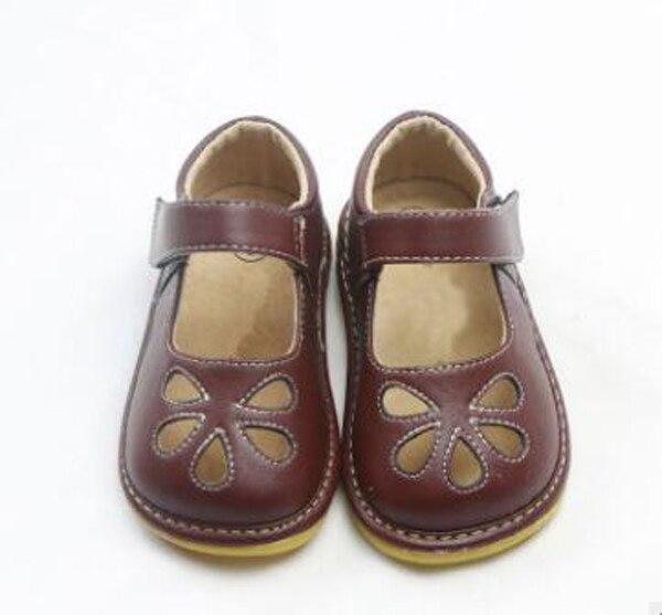 Meninas guinchos 1-3 anos crianças sapatos artesanal mary janes branco preto marrom flor recortes zapatos criança