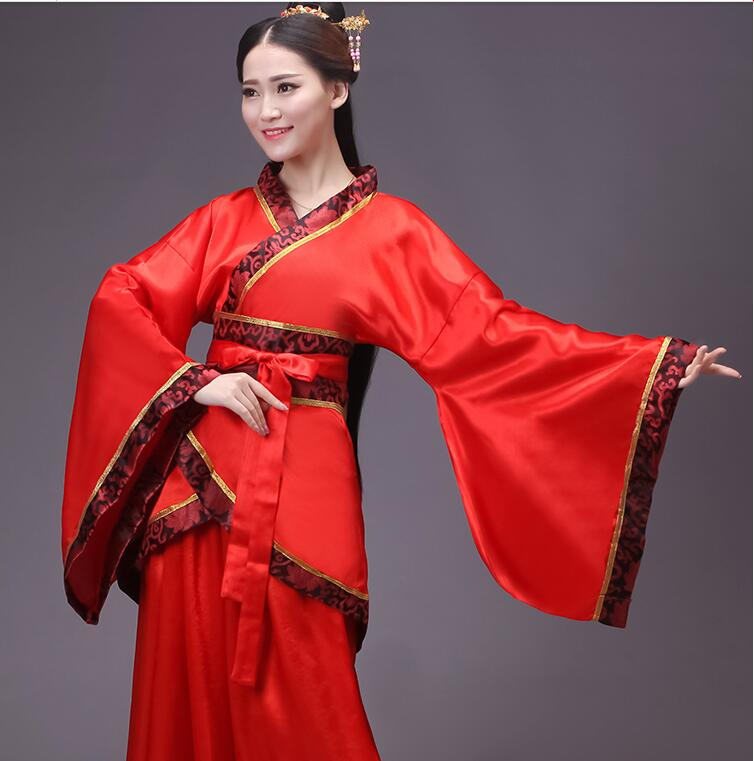 Vestido antiguo chino Hanfu para mujer