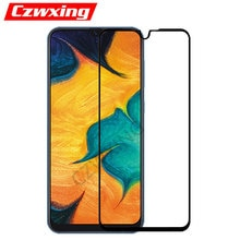 For Samsung Galaxy A30 Glass Full Cover Screen Protector Galaxy A30 Tempered Glass For Samsung A30 A