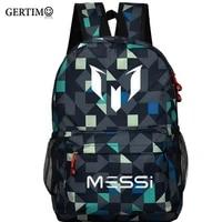 school bag for teenager boy rucksack messi backpack teen black footbal bag men back pack travel gift mochila bolsas kids bagpack