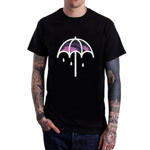 Men's  Umbrella T Shirts Black Short Sleeve Different Colours High Quality 100% Cute Tatoo Lover T-Shirt