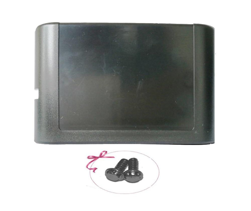 Ruitroliker 20 قطعة أسود الإسكان حالة خرطوشة بطاقة قذيفة غطاء ل سيغا سفر التكوين ميجا محرك مع 2 قطعة الأمن مسامير