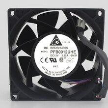 Tout nouveau original 9038 PFB0912UHE 12 V 2.35A 9 CM 4 ligne Super Violence serveur ventilateur de refroidissement