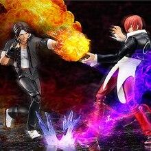 Figma Game KOF The King Of Fighters SP-094 Kyo Kusanagi & SP-095 Iori Yagami BJD PVC Action Figure Model Toys