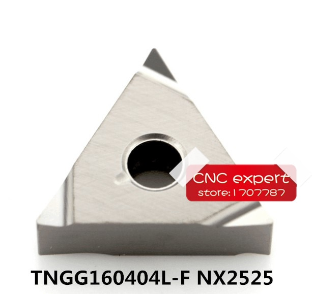 Токарные Вставки NX2525 для MTJNR/MTENN/MTQNR, 10 шт., TNGG160404L-F, бесплатная доставка