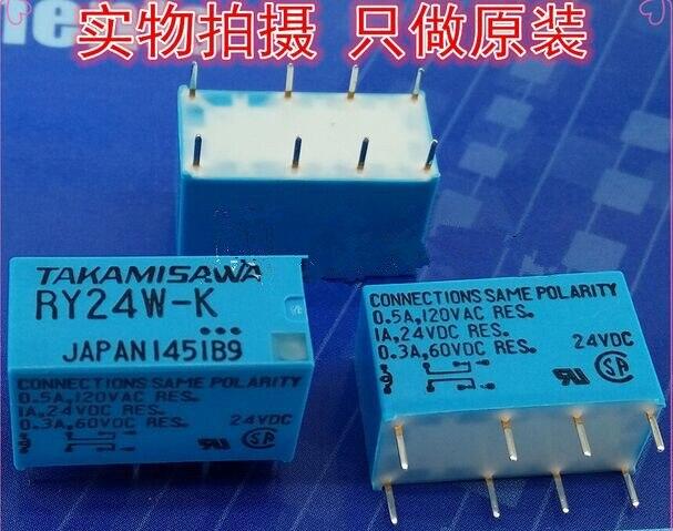 RY24W-K 24VDC 0.5A 125VAC DIP8 Fujitsu Relé 2 DE C TAKAMISAWA, nuevo y original