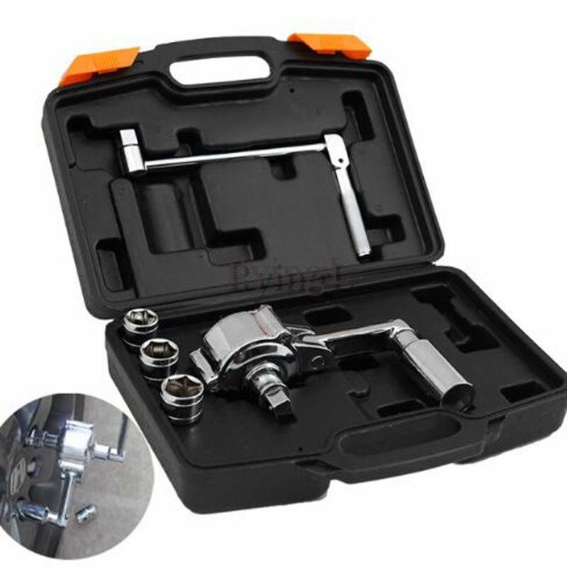 Nuevo Torque multialicate rueda tuerca Cracker llave eléctrica herramienta coche neumático Torque