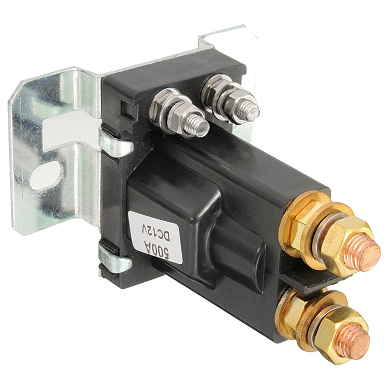 Aislador de batería Dual relé de arranque On/Off 4 Pin 500A 12V para el interruptor de alimentación del coche