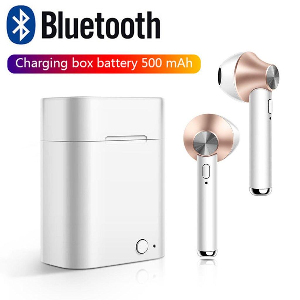 Binner auriculares Bluetooth estéreo deportivos manos libres auriculares inalámbricos Bluetooth 4,2 auriculares Control táctil auricular 19MAY30
