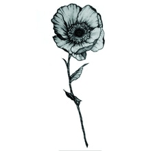 200 piezas una flor resistente al agua tatuaje temporal pegatina tatuaje falso tatuador hombres Harry estilos Tatoos Temporales para mujeres Festival