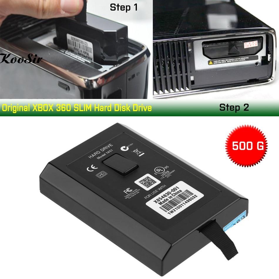 Disco duro Original de 500G para XBOX 360 SLIM E, Consola de...