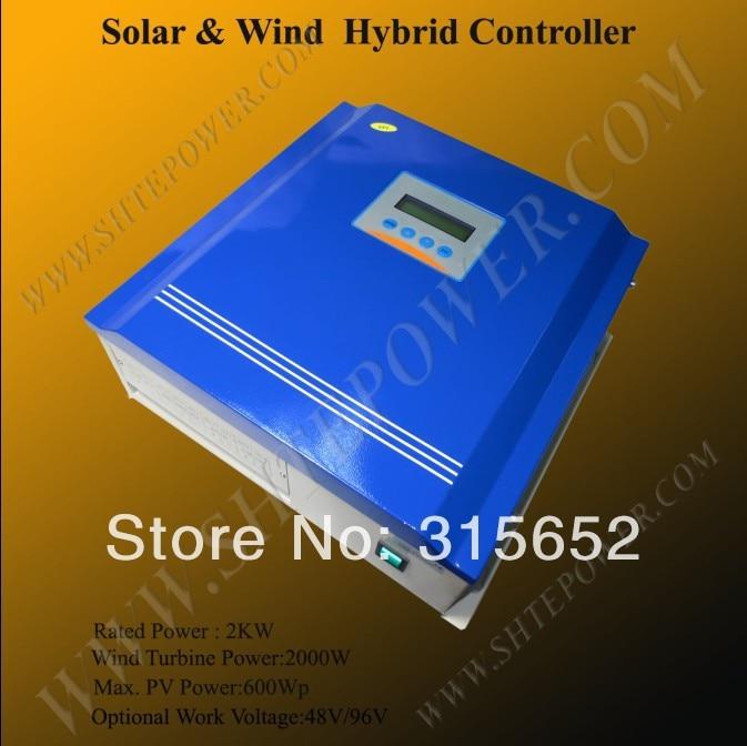 Усовершенствованный солнечный гибридный контроллер 2 кВт 48 в 2000 Вт