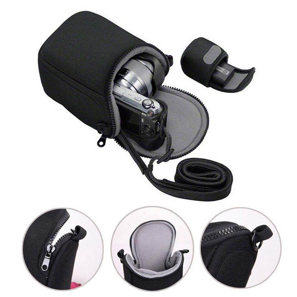 MINI BOLSA PARA cámara Fujifilm X100F XT100 X30 XA3 XA2 XE1 XT20 XT10 XT2 Olympus E-M10 II III EM10II E-M5II EM5 EPL6 EPL7