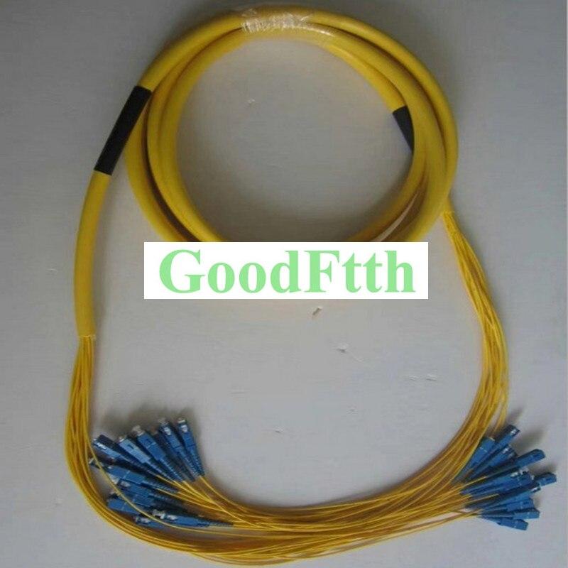 Fiber Patch Cord SC-SC UPC SM 12 Cores Trunk Breakout 2.0mm GoodFtth 100-500m