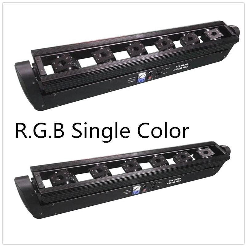 2 uds. x 150w efecto láser Barra de haz de foco móvil led R.G.B color único o rgb dmx 3 en 1 disco láser barra led de iluminación muestra