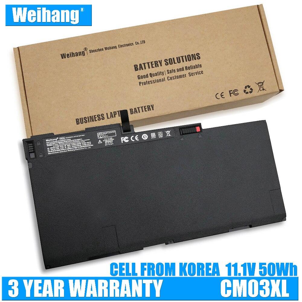 Корейская батарея Weihang CM03XL для HP EliteBook 740 745 840 850 G1 G2 ZBook 14 HSTNN-DB4Q HSTNN-IB4R 716724-171