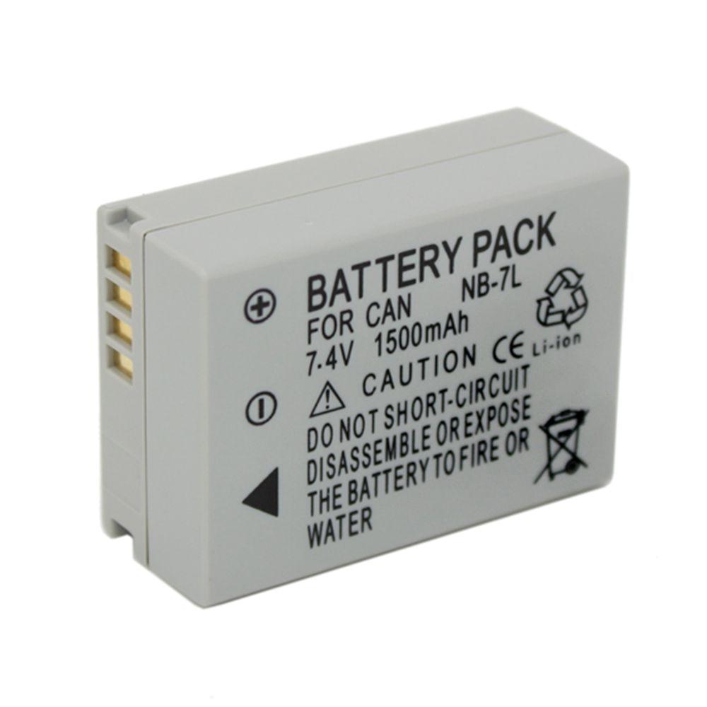 Batería de cámara WHCYonline 1050mAh NB-7L NB 7L NB7L para Canon G10 G11 G12 SX30IS