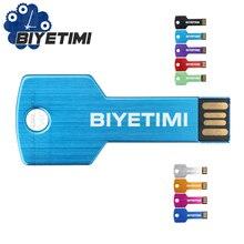 Biyetimi Usb-Stick BIYETIMI Corloful Schlüssel 8GB 16GB 32GB 64GB Speicher Usb Stick 2,0 Stift -Stick Für PC
