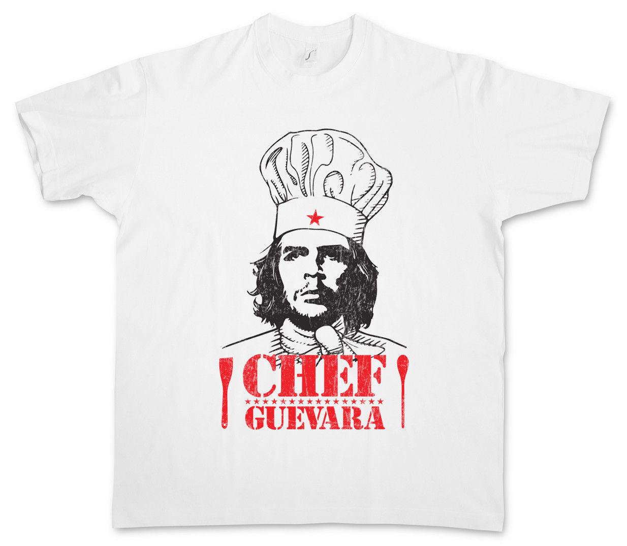 2019 CHEF GUEVARA camiseta Che socialismo el comunismo divertido Revolución Fidel Castro