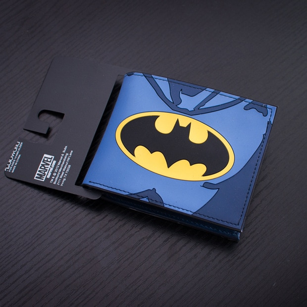 Comics Purse Famous Brand Men Wallets Anime Batman Animal Prints Clutch Bags Casual Leisure Cartoon Wallet for Boy