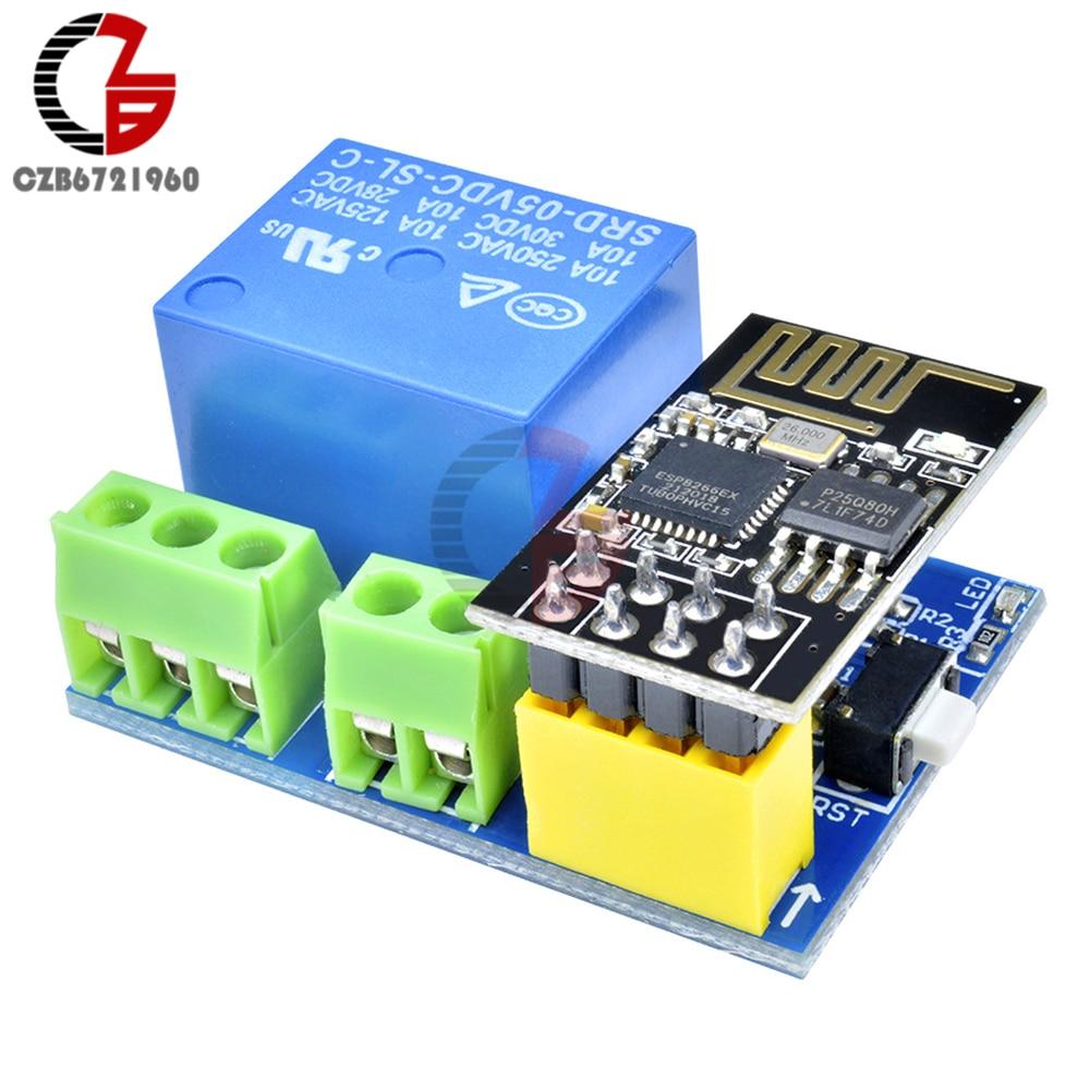Wi-Fi управление ESP8266 ESP-01S DS18B20 модуль датчика температуры и влажности для контроля температуры цифровой термостат гумидистат