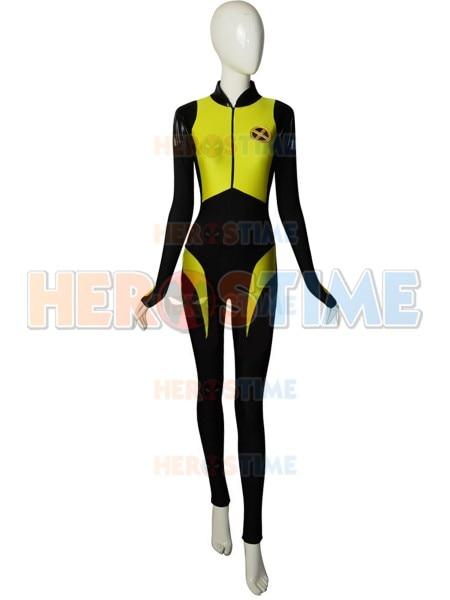 Disfraz negasónico de cabeza de guerra adolescente Spandex Deadpool 2 superhéroe Cosplay disfraz Halloween Zentai Bodysuit hecho a medida