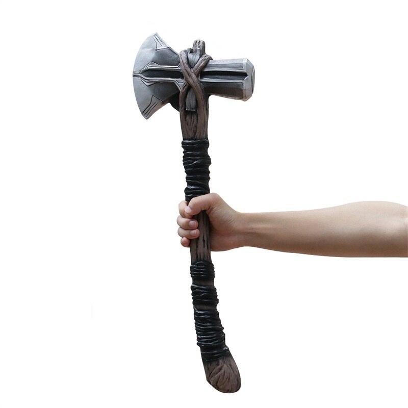 [Divertido] Thor Stormbreaker Tomahawk martillo figura juguete colección modelo niños regalo infantil cosplay disfraz fiesta Juguetes