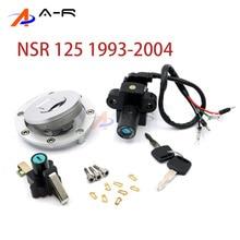 Capuchon de réservoir de carburant de gaz   Interrupteur dallumage, pétrole et gaz, couvercle de siège, serrure de clé pour 1999 Honda NSR125 NSR 125 RX 1993 - 2004 2003 2002