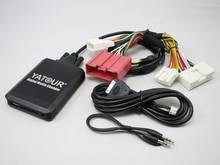 Yatour YT-M07 para ipod iphone usb sd aux digital media changer para novo mazda 3/5/6 cx5 cx7 rx8 2009 + can-bus áudio carro mp3 player