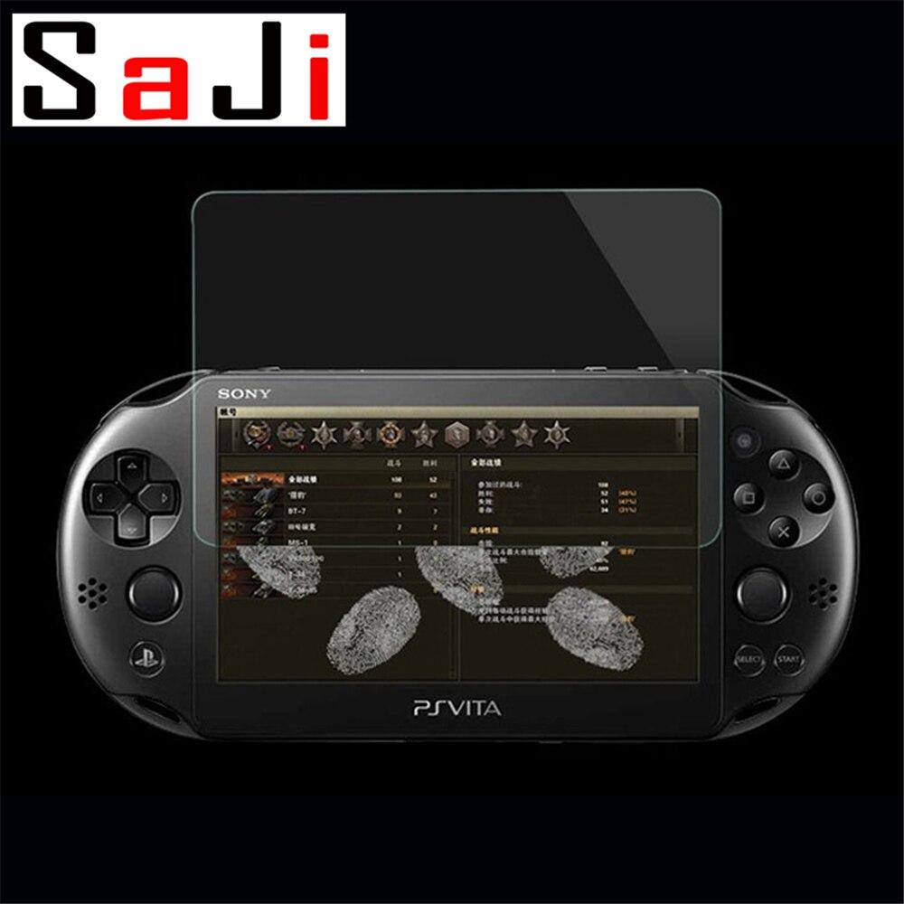 2Pcs Gehärtetem Glas PSV 2000 Frontscheibe Protector Cover Schützende Film Schutz Für Sony PlayStation Psvita PS Vita PSV 2000