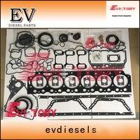For Volvo excavator engine D7E Full engine repair gasket kit +cylinder head gasket