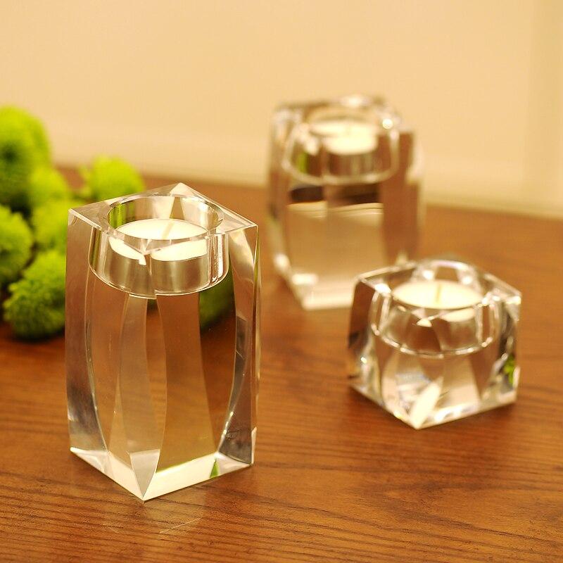 Candelabros de cristal de Europa centros de mesa de boda centro de...