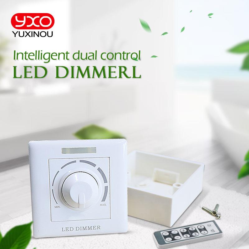 باهتة الثايرستور LED مع شريحة AC COB ، 200W ، جهاز تحكم عن بعد بالأشعة تحت الحمراء