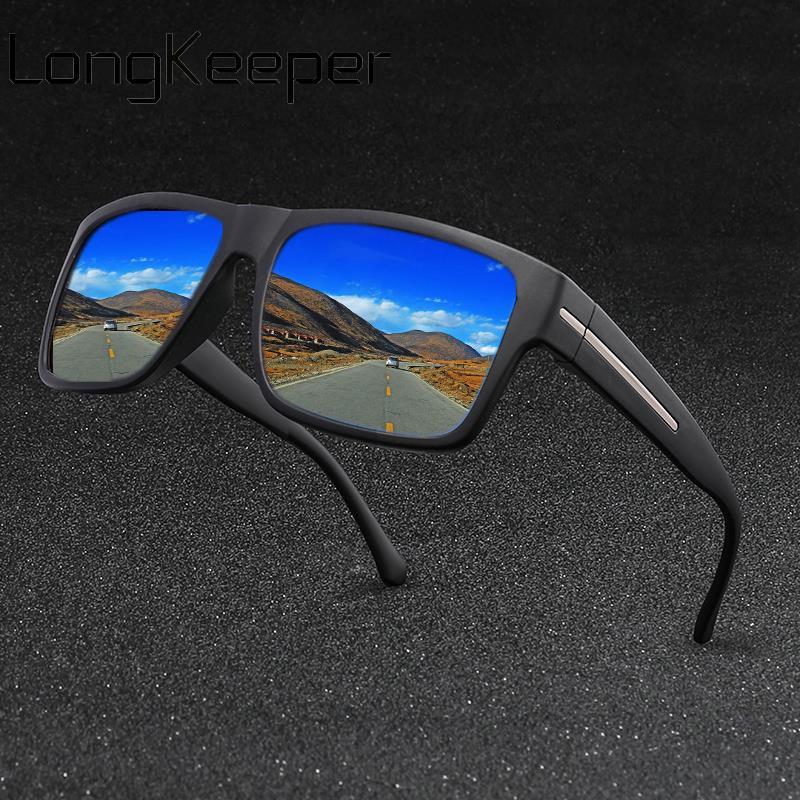 2019 Polarized Sunglasses Men Classic Brand Square Sun Glasses Women Mirror Lens Eyewear Drivers Goggles UV400 Gafas De Sol