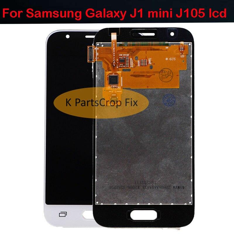 800*480 pantalla lcd para Samsung Galaxy J1 mini J105 J105H J105F J105B J105M SM-J105F pantalla LCD con pantalla táctil envío Gratis + herramientas