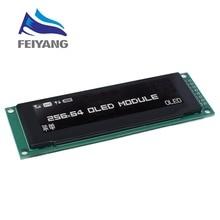 "Nueva pantalla OLED 2,8 ""256*64 25664 puntos módulo gráfico LCD pantalla LCM pantalla SSD1322 controlador compatible SPI"