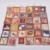 36 unids/lote Tarjeta de Navidad colgante Santa Claus tarjetas de felicitación niños Año Nuevo postal tarjeta de regalo Navidad gracias tarjetas para el día Xms