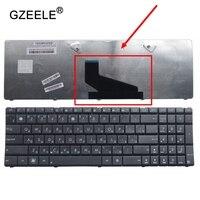 GZEELE Russian RU laptop Keyboard for Asus X53BE X53TA X53TK A53BE A53BR A53BY A53TA A53TK A53Z K73B K73BR black