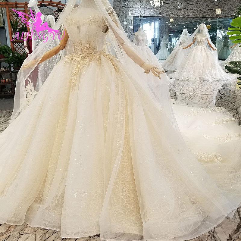 AIJINGYU accesorios de boda vestidos clásicos Vintage de talla grande Shopping Suzhou temporada de amor elegante vestido Vintage colección