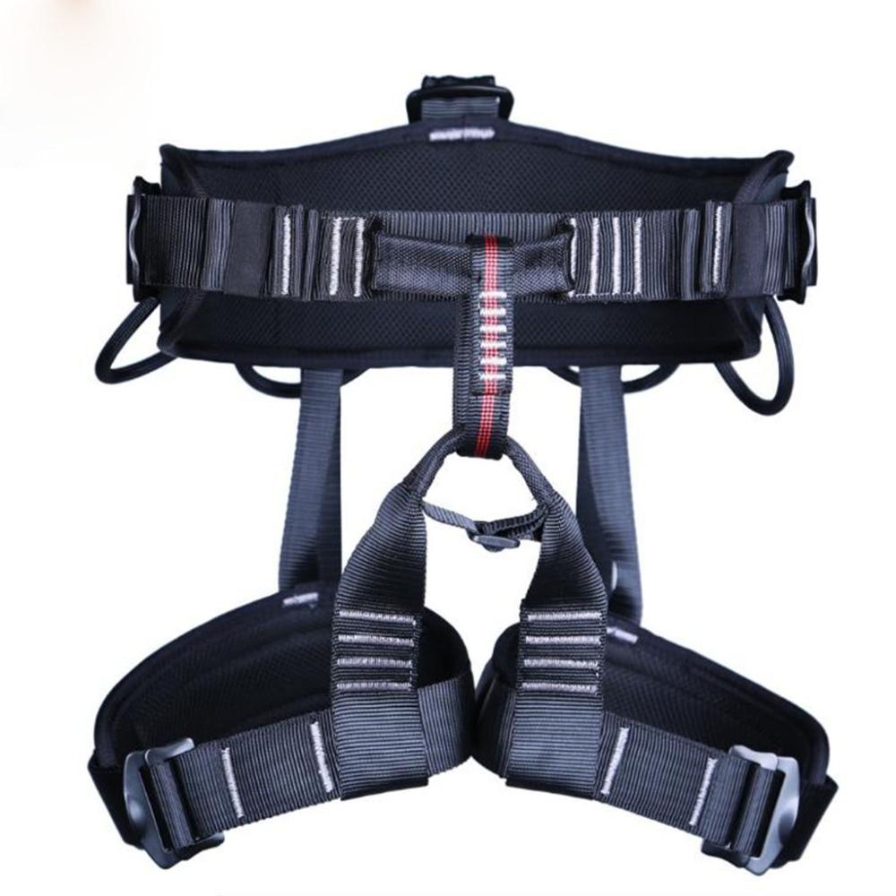 Half Body Waist Support Safety Belt Harness Aerial Equipment Caving Seat Belt Security Seat Belt Climbing Rappelling Harness
