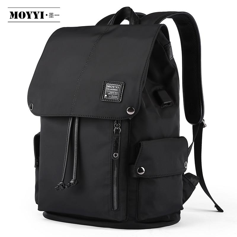 MOYYI, mochila grande impermeable de la mejor calidad, mochila funcional para hombres de 14 ''15,6'', mochila para portátil, mochila de viaje al aire libre para hombres, bolsa de moda